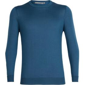 Icebreaker Quailburn Midlayer Heren blauw